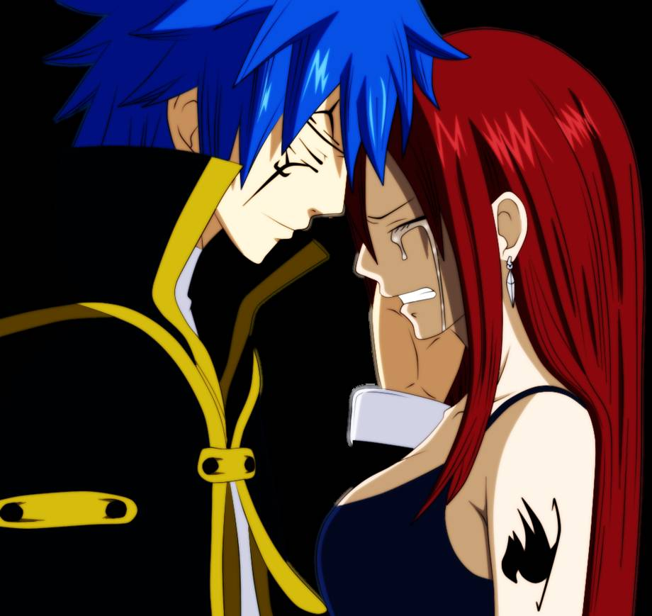 Jellal And Erza Fairy Tail Wallpaper Erza With Jellal Fairy Tail 920x869