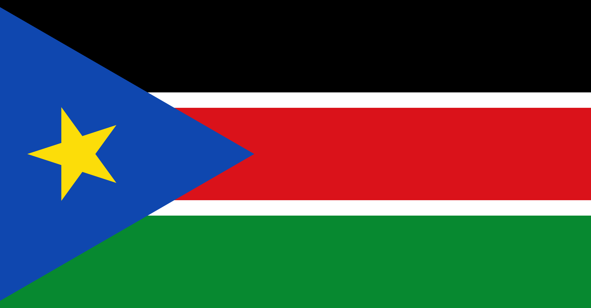 South Sudan Country Flag Wallpaper PaperPull 1920x1000