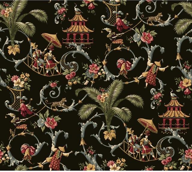 Wallpaper Wa7769 Mandarin Prose Oriental Asian Toile asian wallpaper 640x574