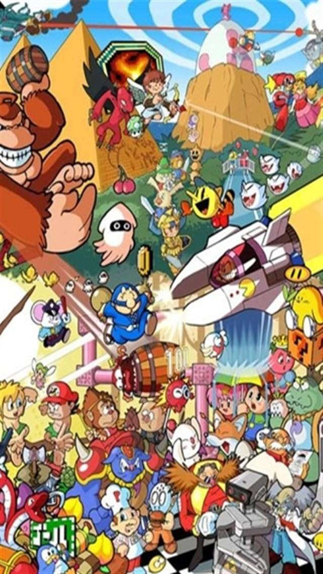 Nintendo Medley 1 Game iPhone Wallpapers iPhone 5s4s3G 640x1136