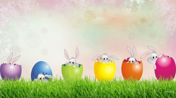 Easter Bunny Wallpapers HD Images Beautiful images HD 600x337