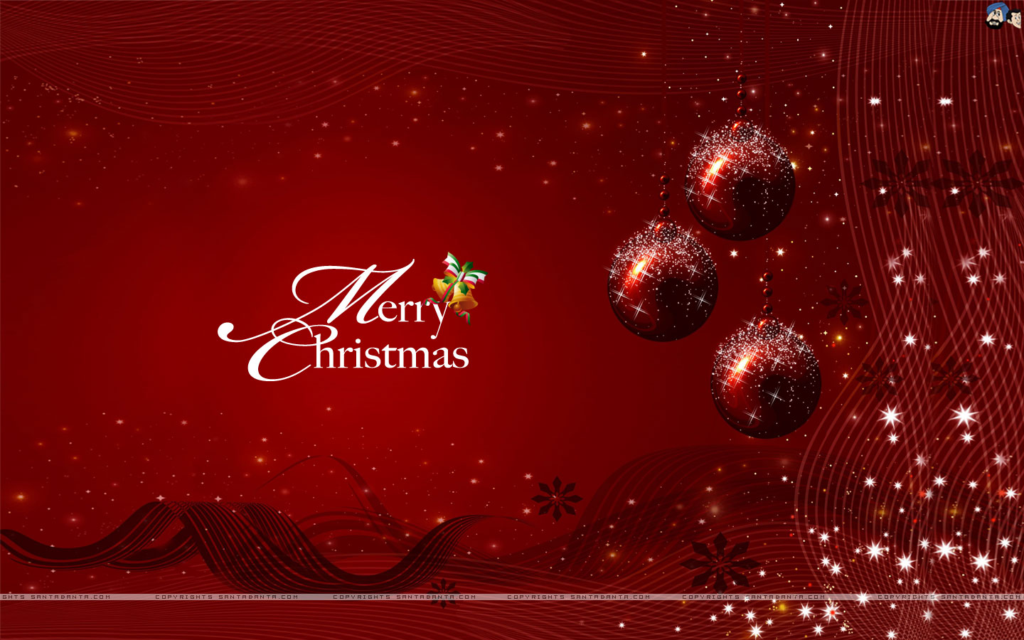 happy christmas wallpapers latestsmsin 1440x900