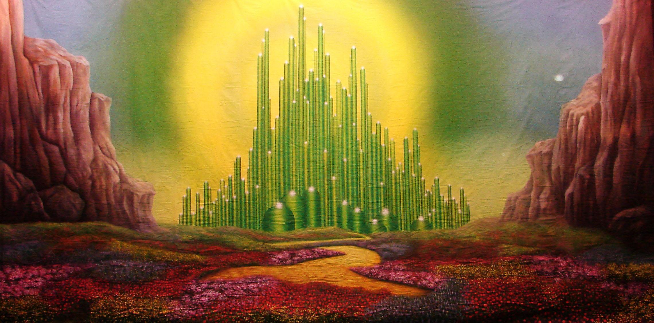 Wizard Of Oz Emerald City Wallpaper Viewing Gallery wallpaper uploaded 2280x1126