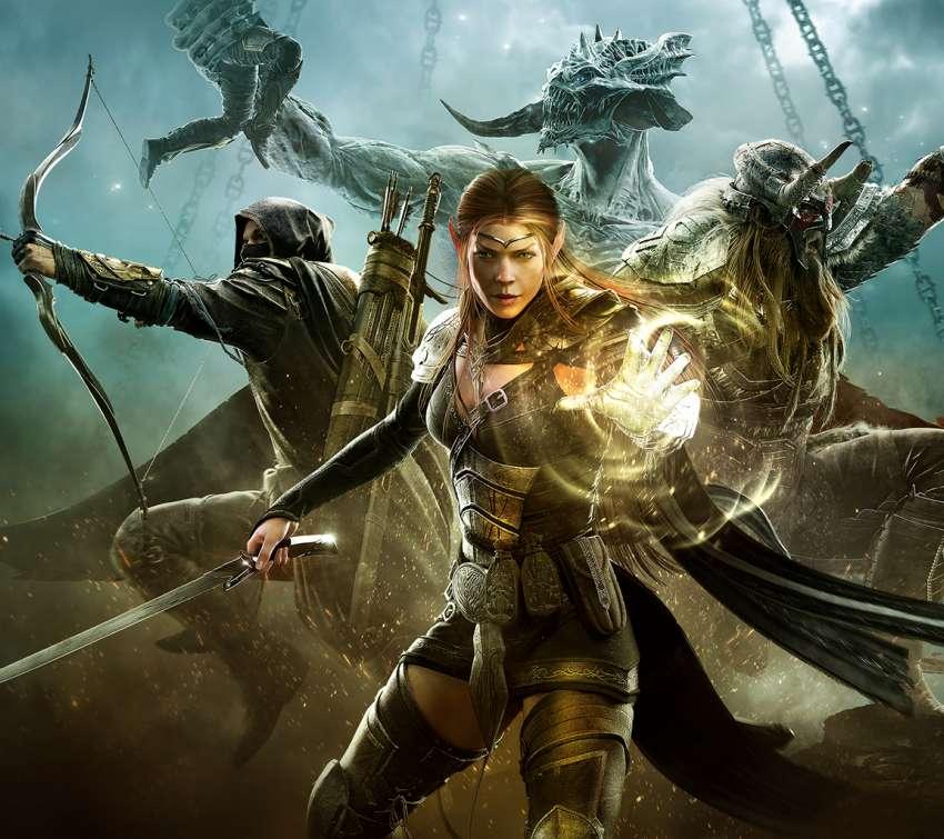 The Elder Scrolls Online Tamriel Unlimited wallpapers or desktop 850x755