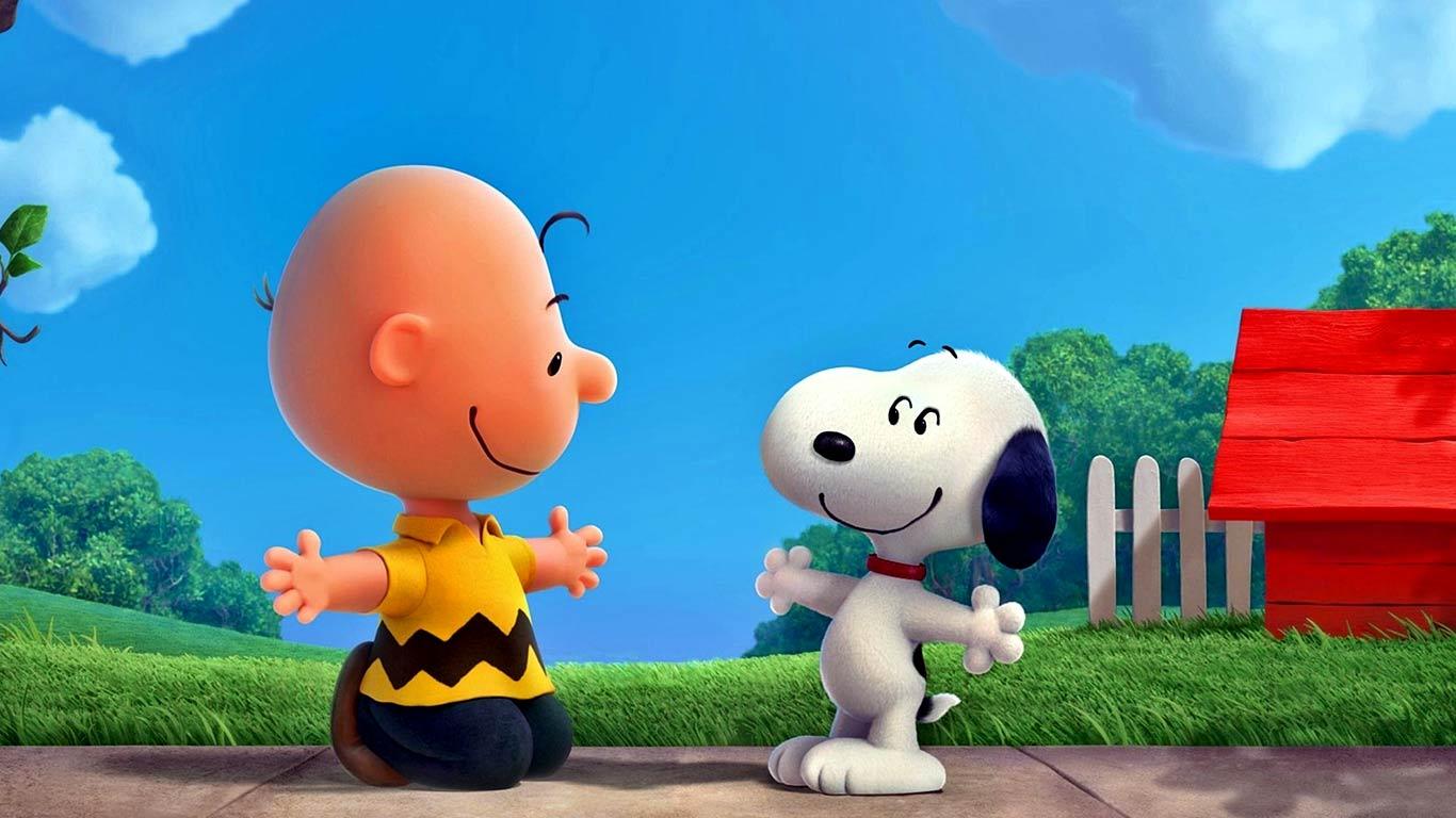 Snoopy Wallpaper Screensavers 1366x768