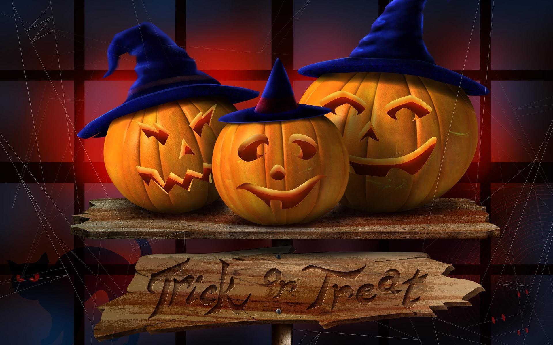 78 Halloween Desktop Wallpapers on WallpaperPlay 1920x1200