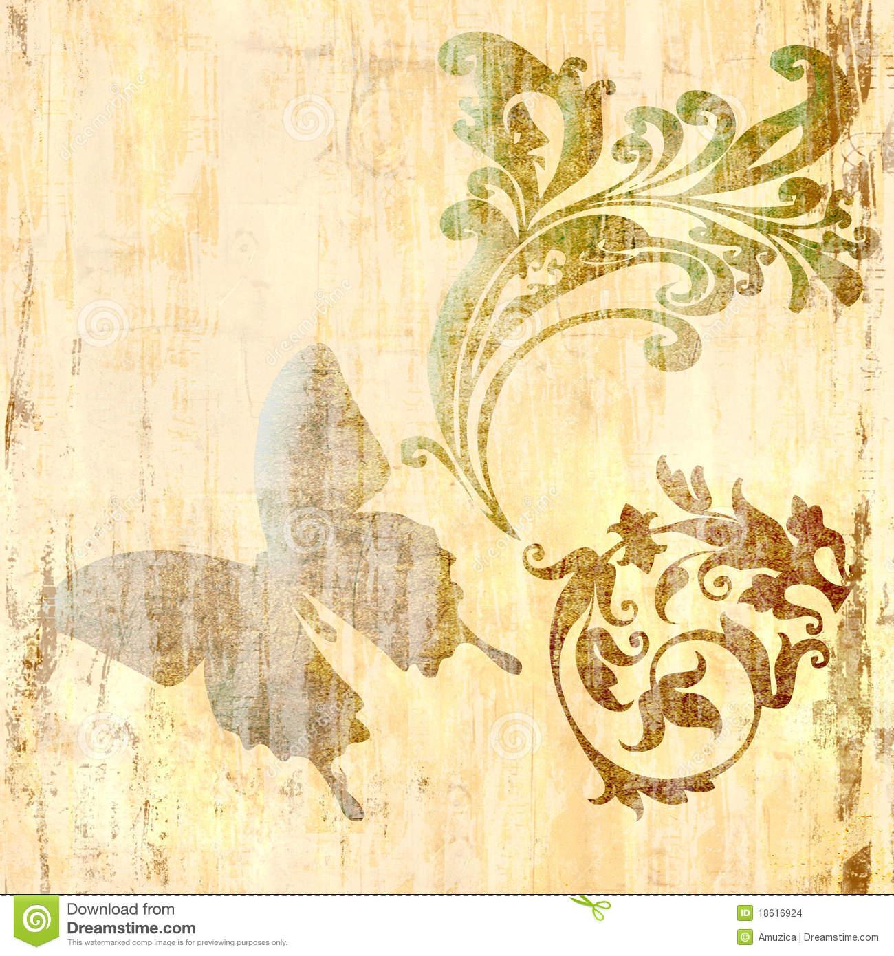 Vintage Butterfly Wallpaper   Widescreen HD Wallpapers 1300x1390