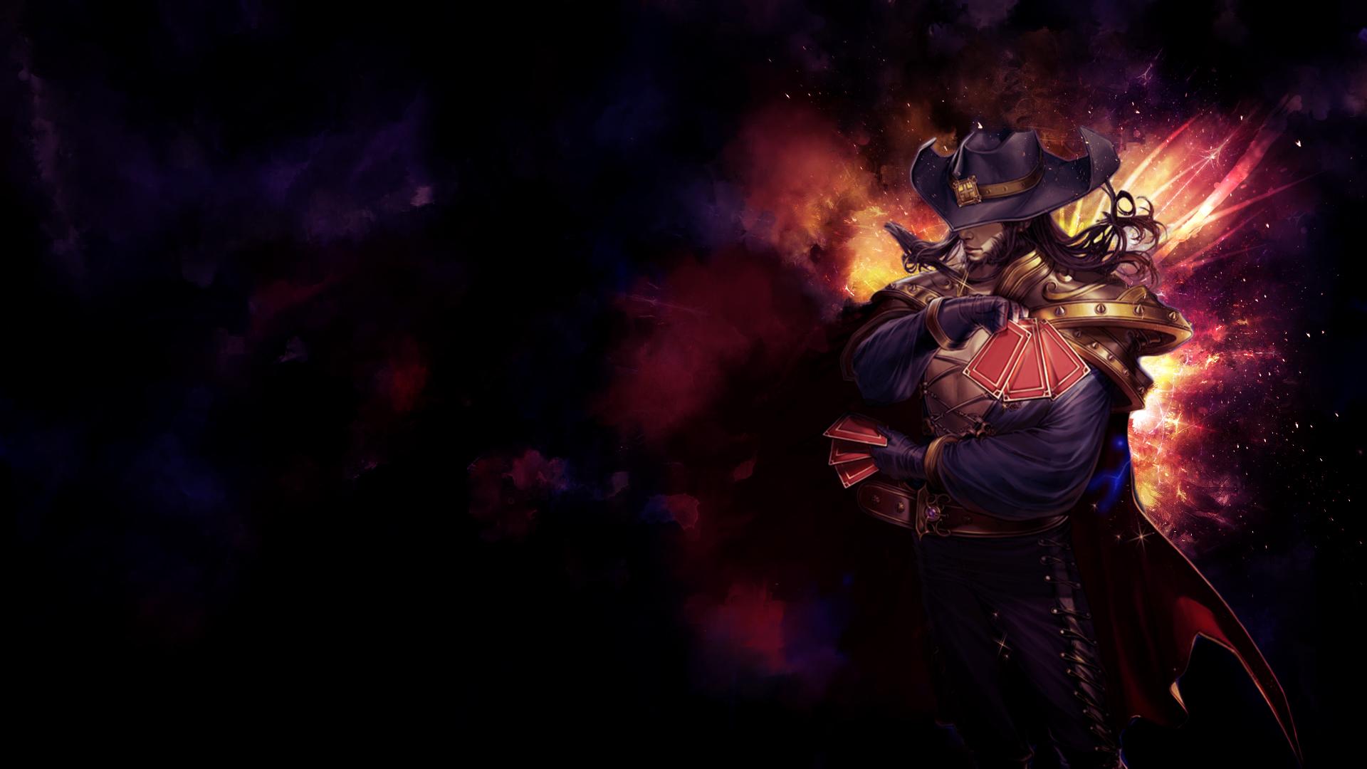 Free Download Twisted Fate Fan Art League Of Legends Wallpapers