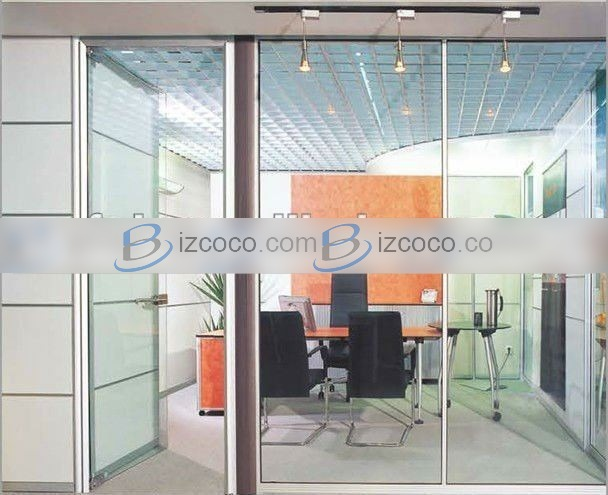 Office Cubicle Glass Wall Systems 608x495