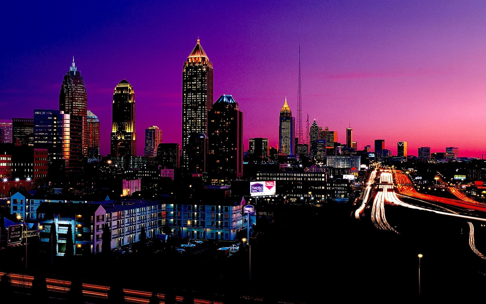 Full HD Wallpapers Night City Lights Wallpapers Pack 3 23 1920x1200