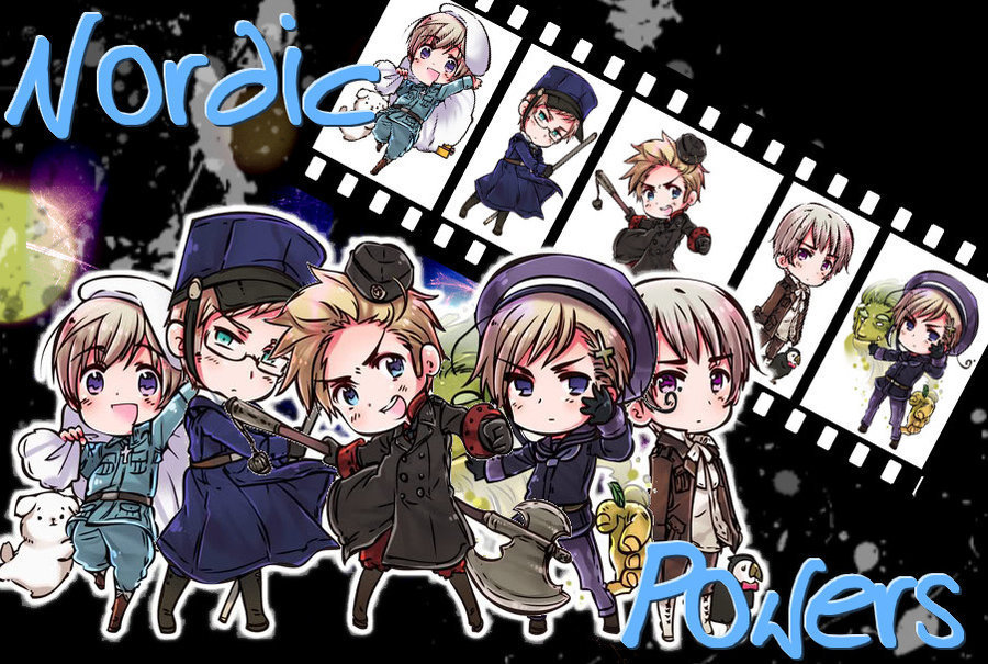 Nordics   Hetalia Nordic Countries Photo 22460311 900x605