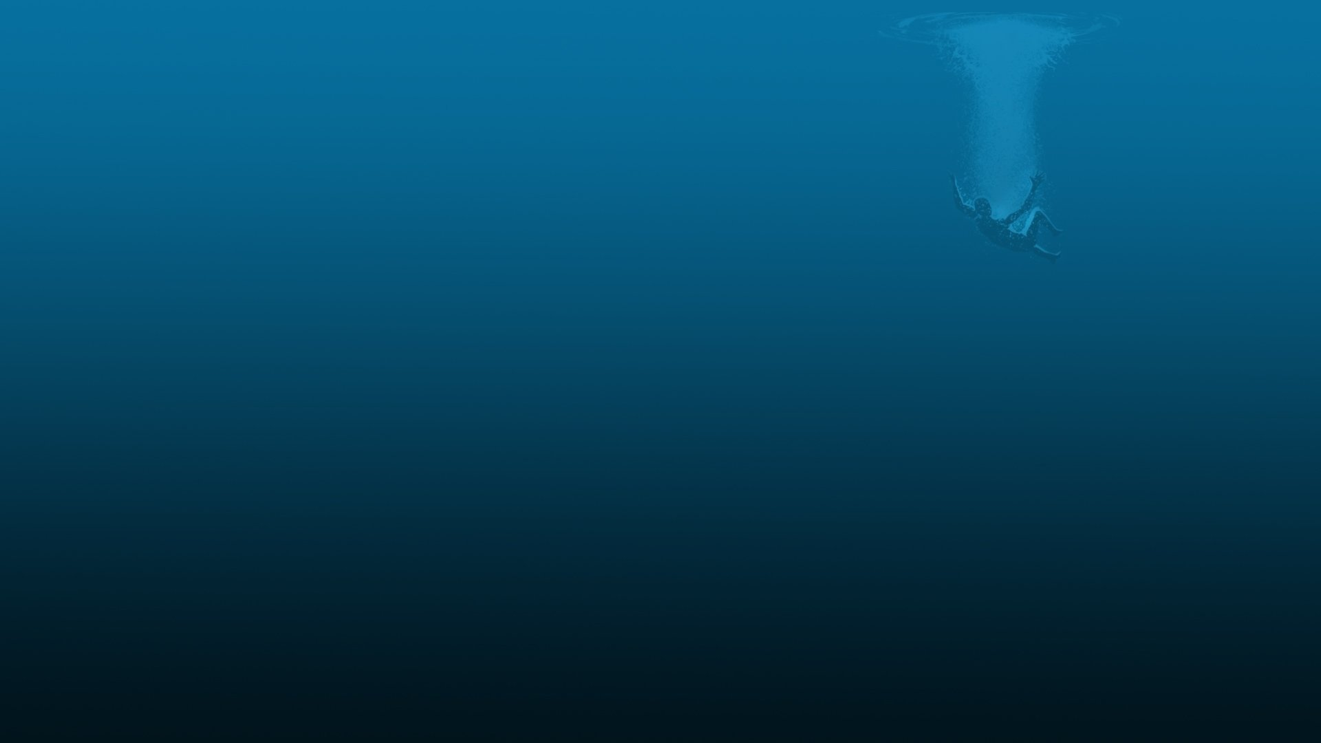 Deep Blue Wallpaper 1920x1080 Deep Blue Sea 1920x1080