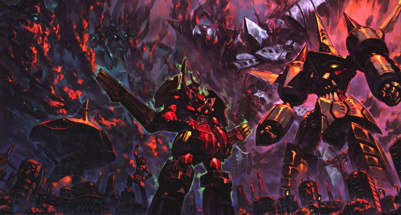 Badass Gurren Lagann wallpaper Anime Awesome Gurren lagann 1398x749