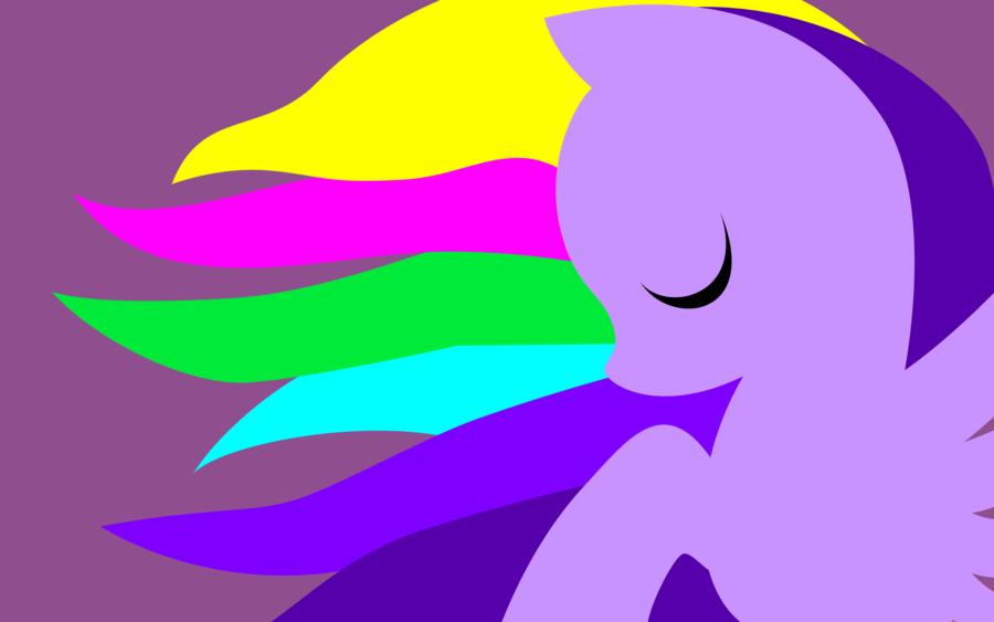 Neon Purple Simplistic Wallpaper by SurfingCA 900x563