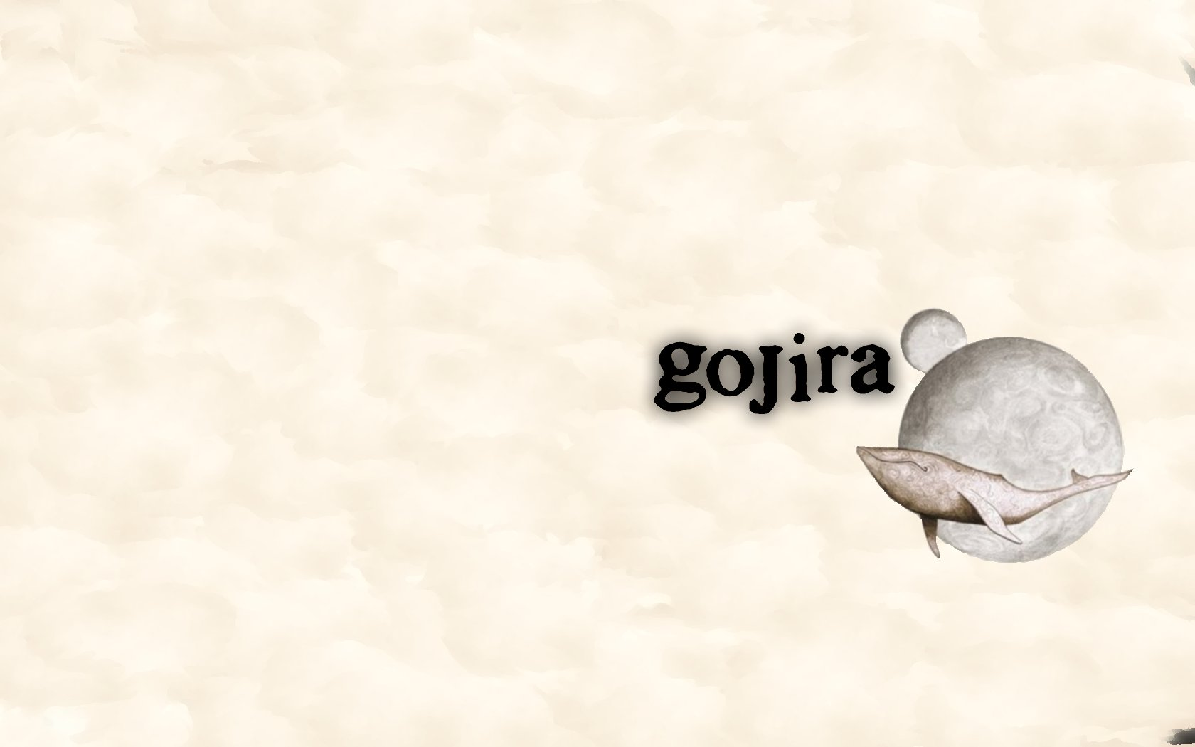 Gojira Wallpaper Related Keywords amp Suggestions   Gojira 1680x1050