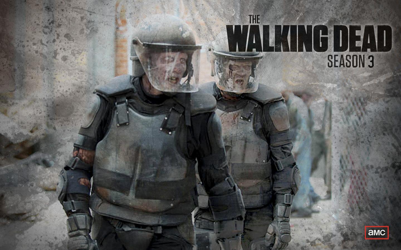 Walking dead zombie wallpaper wallpapersafari alf img showing walking dead season 3 background 1440x900 voltagebd Gallery