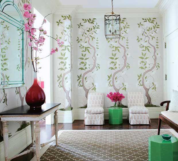 Chinoiserie Wallpaper 620x561