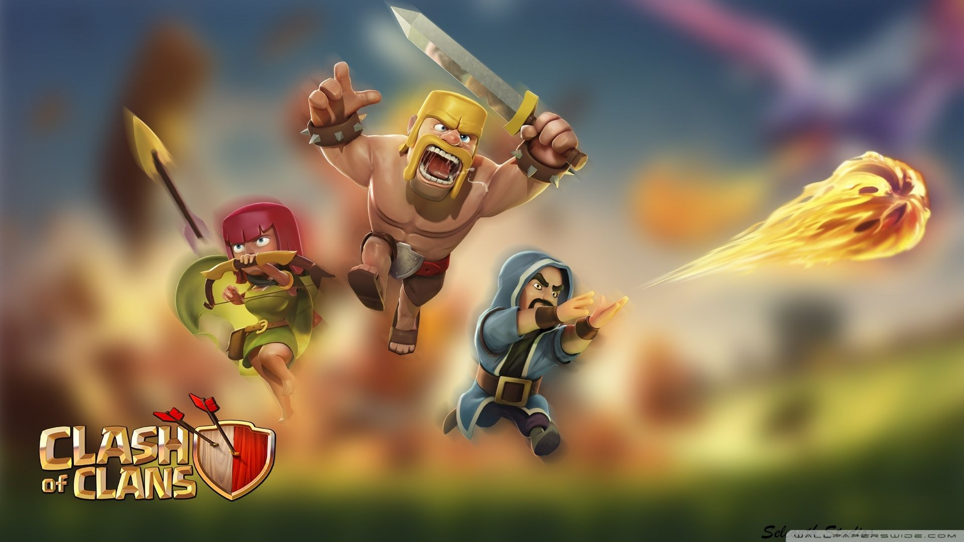 60 Wallpaper HD Android Clash of Clans COC Terbaru 1920x1080