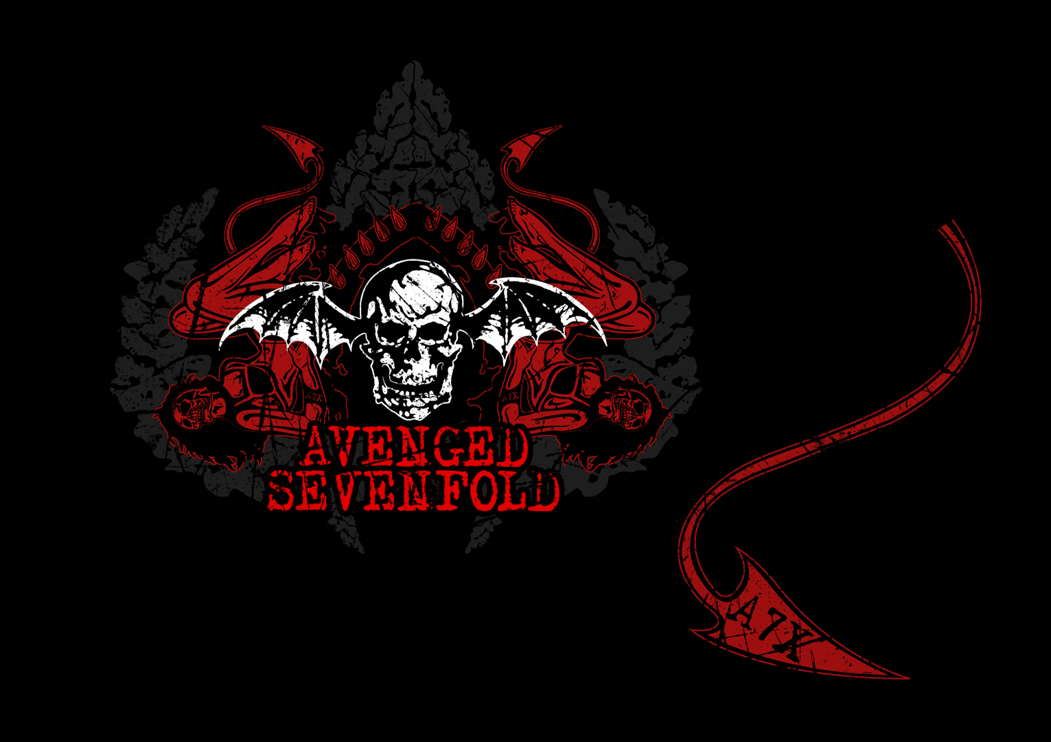 wallpapers hd for mac Avenged Sevenfold Wallpaper High Definition 1531x1081