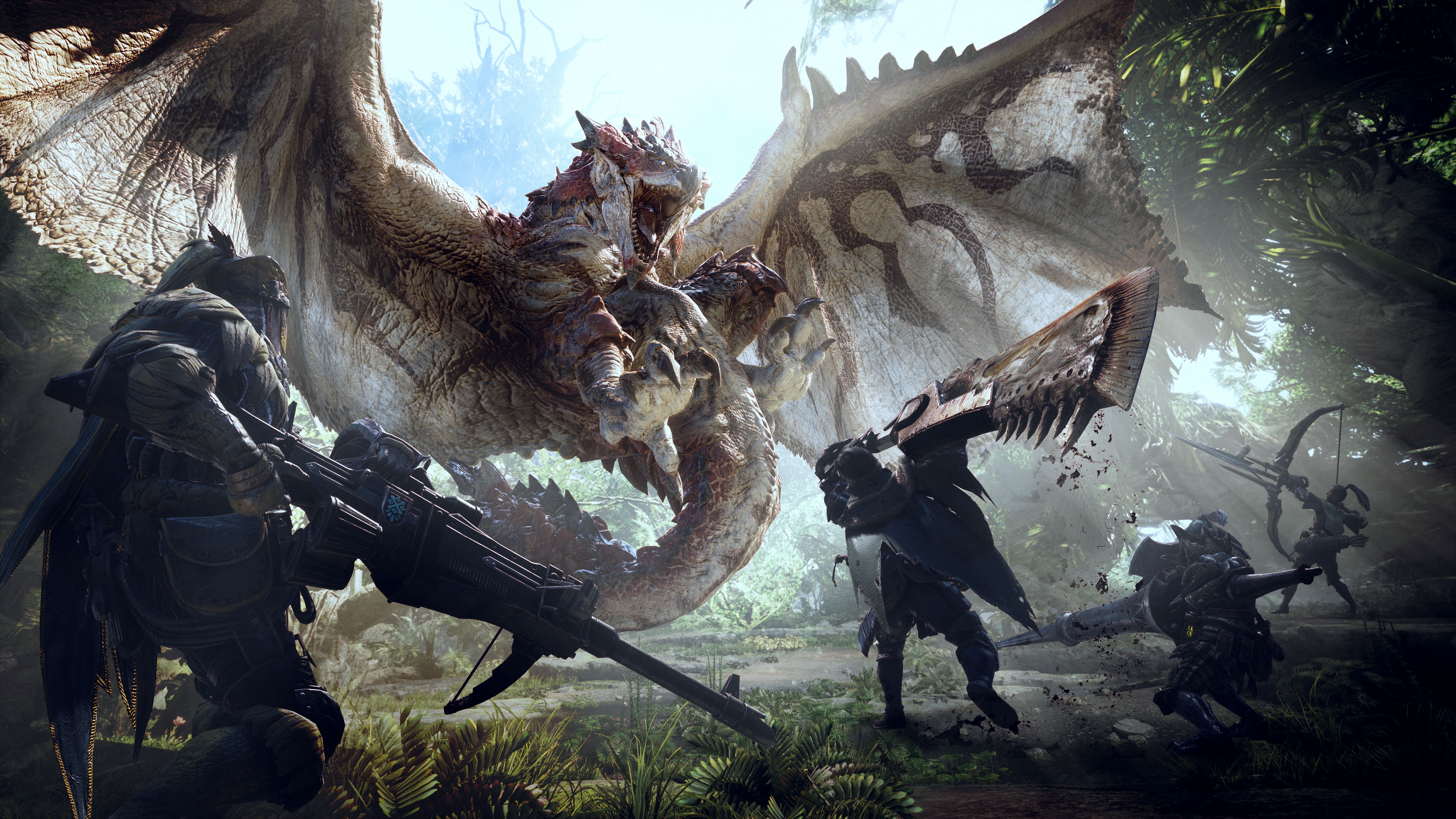 25 Monster Hunter World HD Wallpapers Background Images 7680x4320