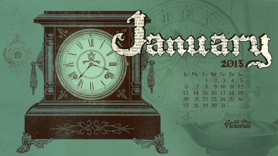 The start of a new year this desktop calendar wallpaper for 570x321