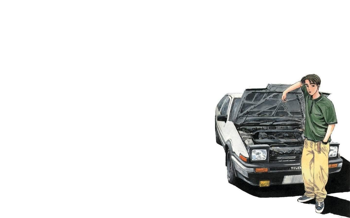 Pics For gt Initial D Takumi Wallpaper 1440x900