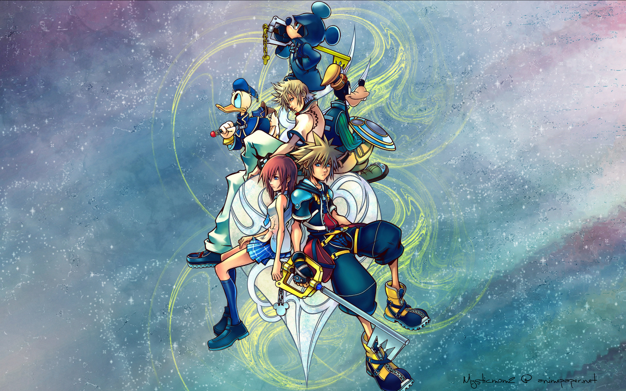 Kingdom Hearts PC Game HD Wallpaper 03 Imagez Only 1280x800