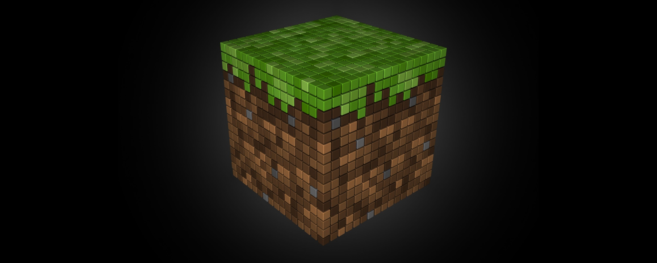 Go Back Images For Minecraft Diamond Block Background 2560x1024