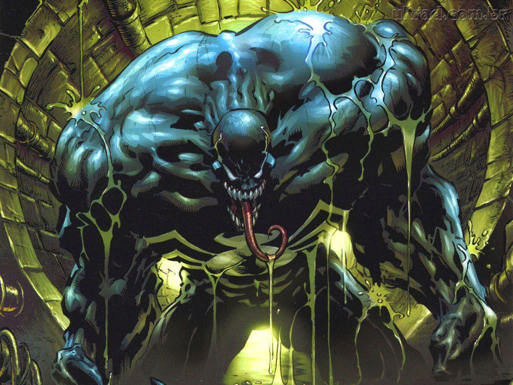 Papel de Parede Venom 1024x768