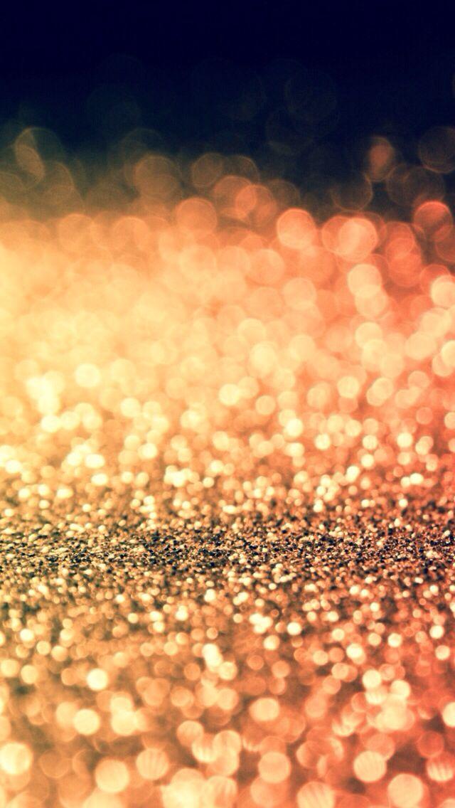 Gold glitter wallpaper Iphone Wallpapers Pinterest 640x1136