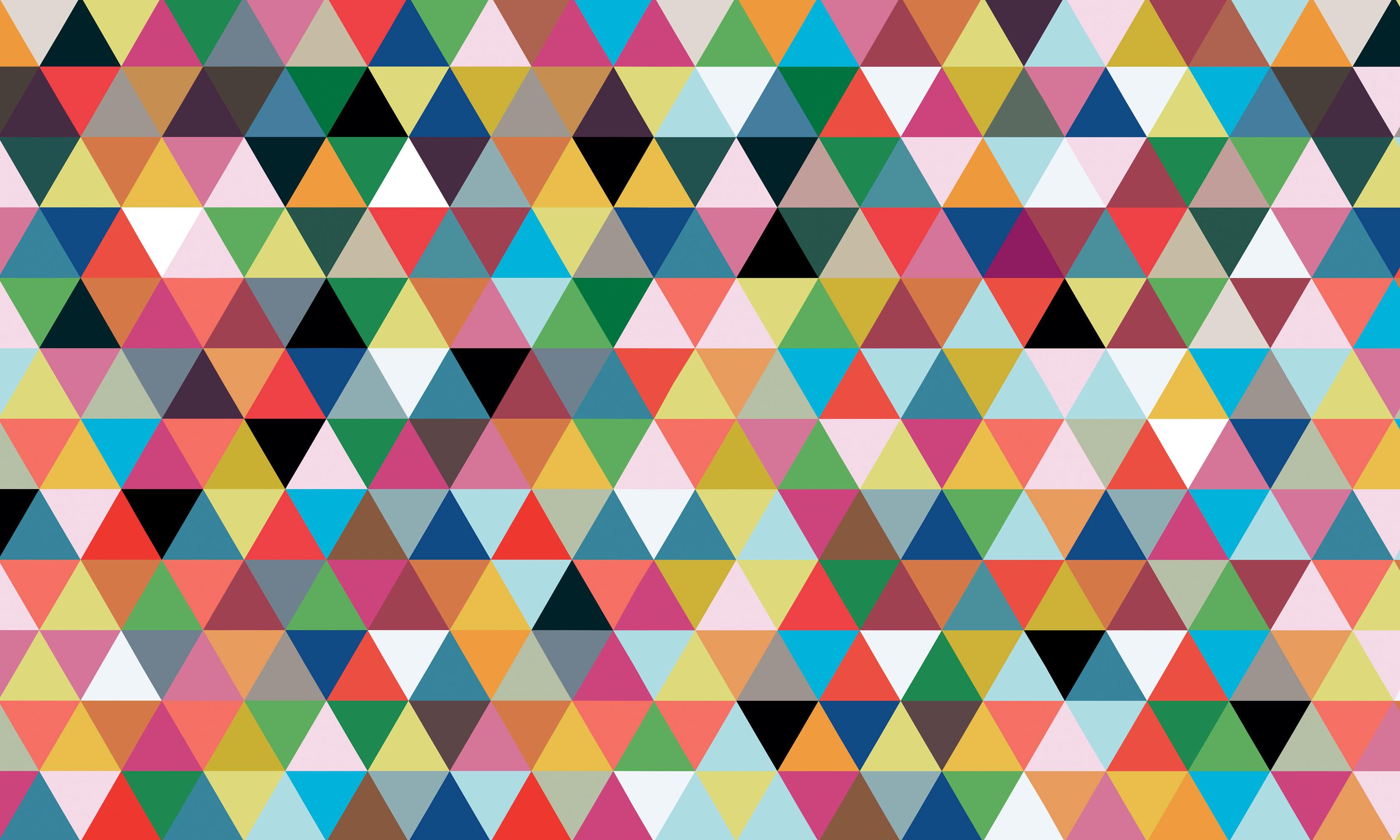 download Geometric Triangle Wallpaper Wallpaper triangles 3300x1980