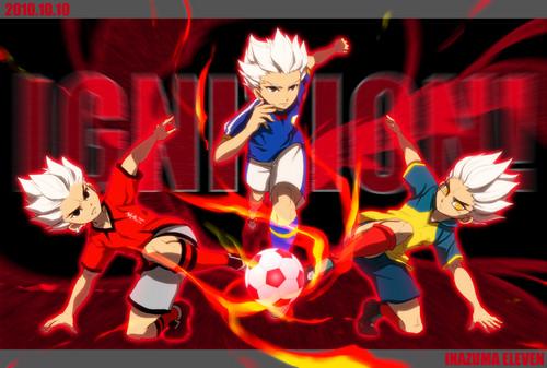 Shya GenjiAxel Blaze images Gouenji Shuuya HD wallpaper 500x337