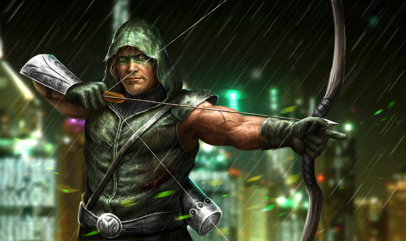 green arrow hd wallpapers 1600x950