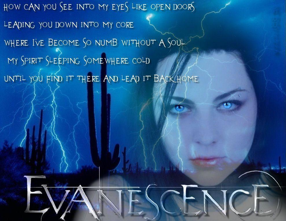 Evanescence Wallpapers 989x763