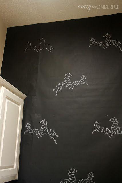 Crazy Wonderful DIY temporary wallpaper Rental and Dorm Solutions 426x640