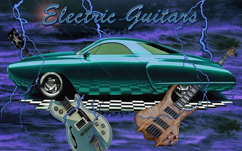 View Of Electric Guitars Wallpaper Hd Car Wallpapers 1440x900