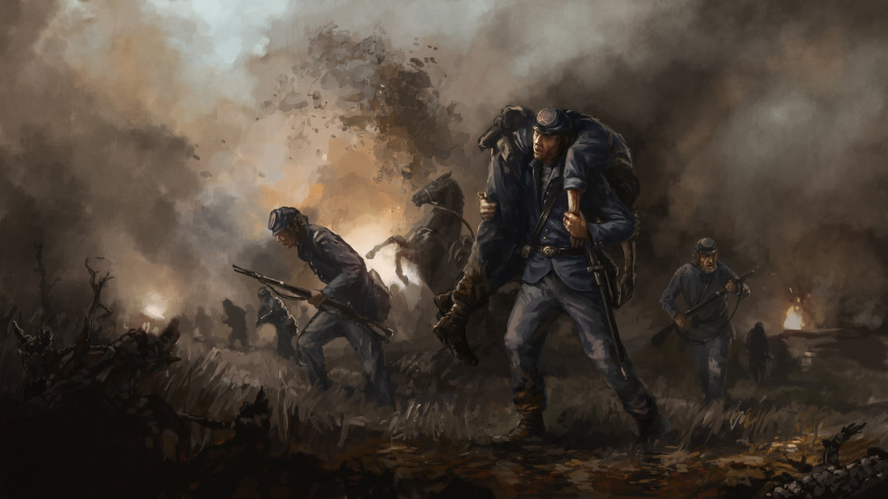 Retreat   American Civil War by Filip Storch ImaginaryBattlefields 1280x720