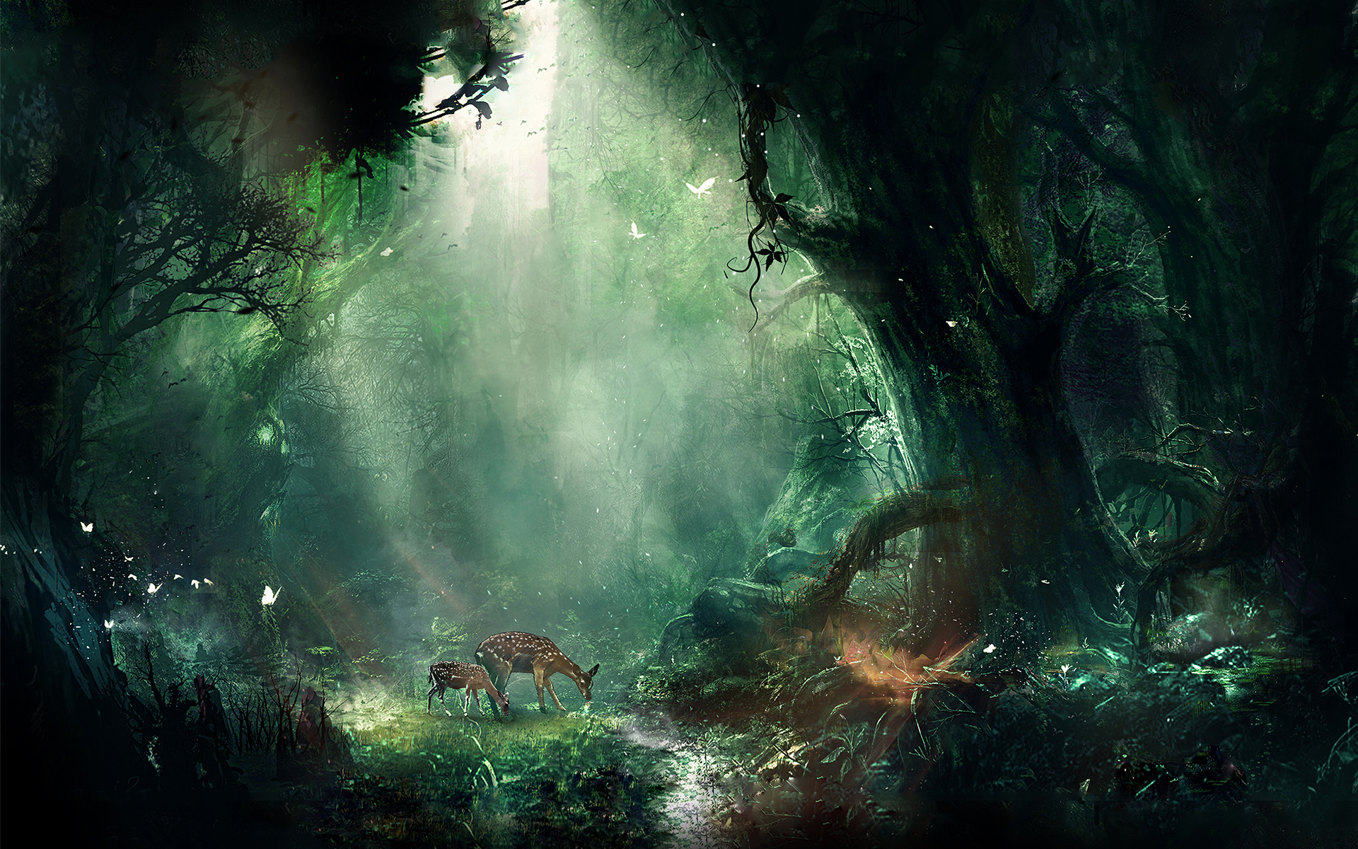 Bambi Jungle Wallpapers HD Wallpapers 1920x1200