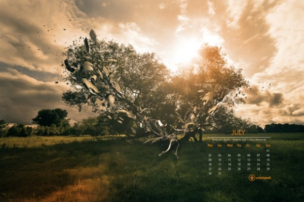 july calendar wallpaper   wwwhigh definition wallpapercom 600x400