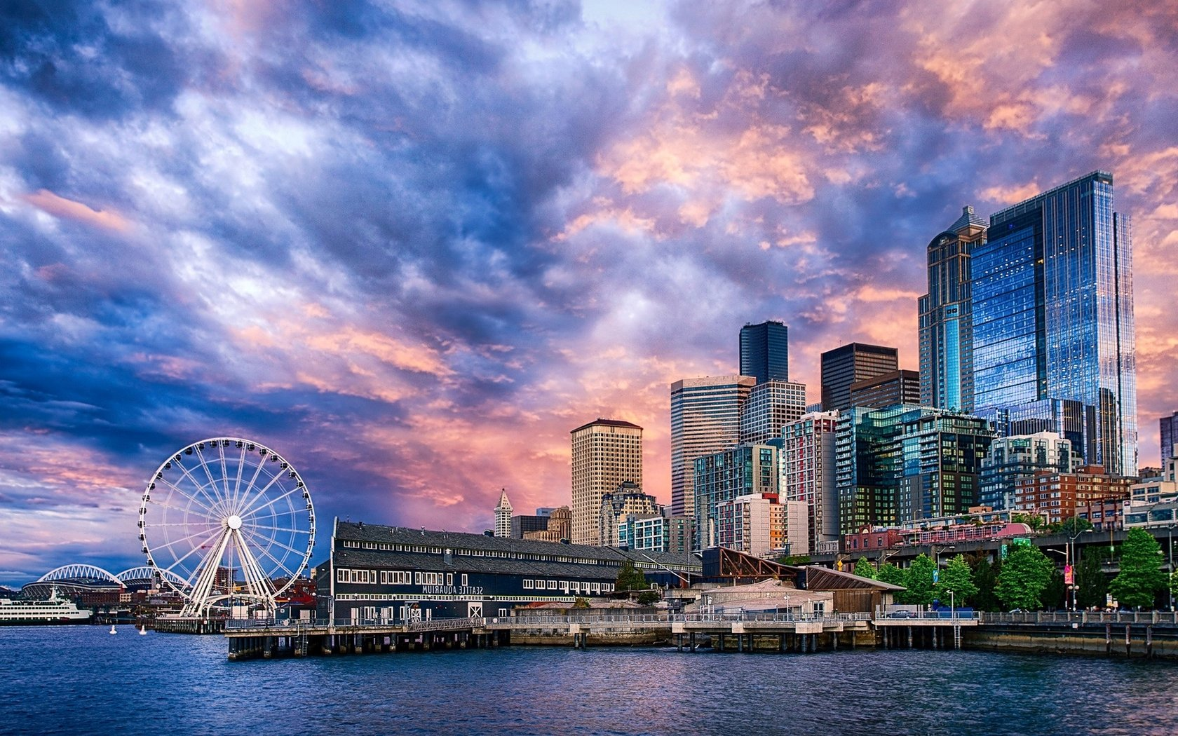 Seattle wallpaper 1680x1050