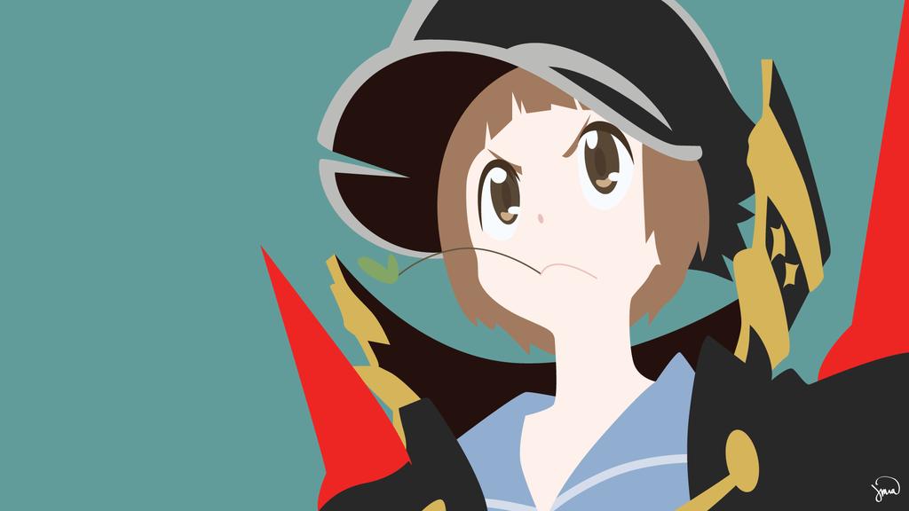 Mako Mankanshoku Kill la Kill Vector Wallpaper by greenmapple17 on 1024x576