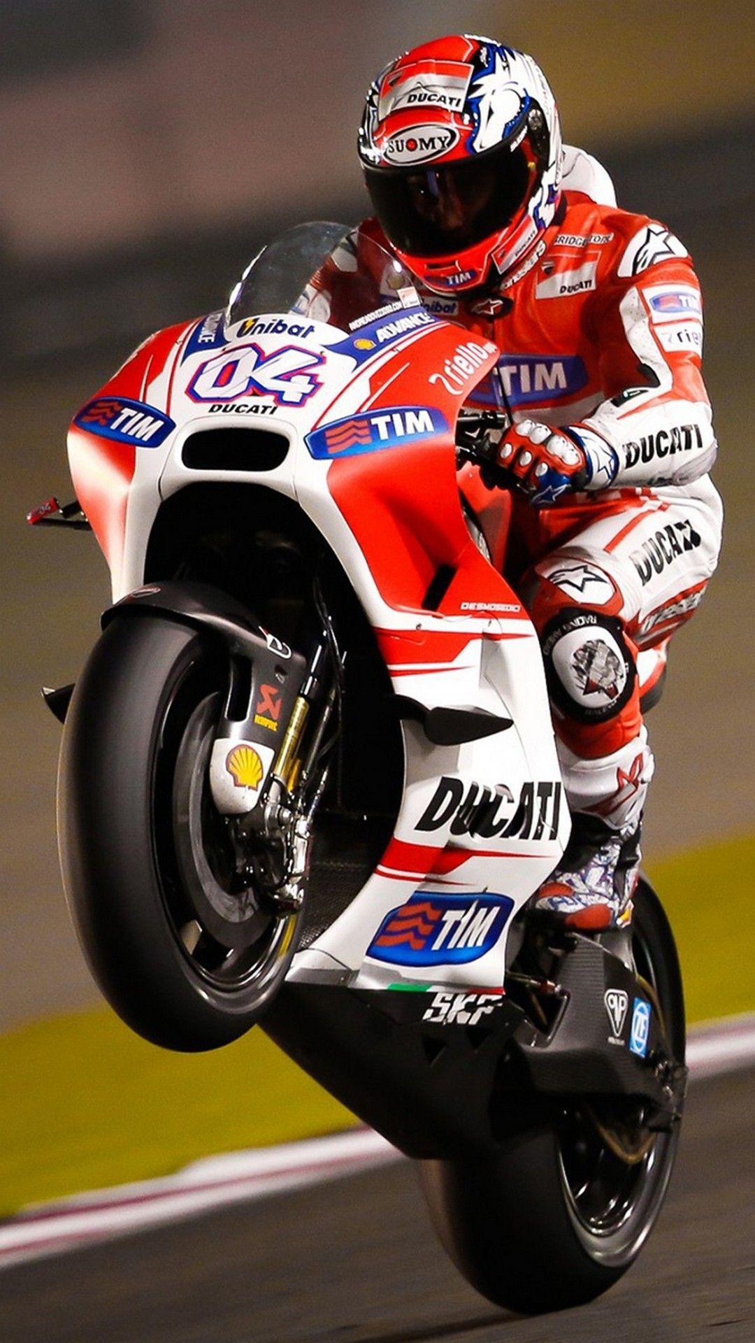 Best Andrea Dovizioso iPhone Wallpaper Motorcycle Ducati 1080x1920
