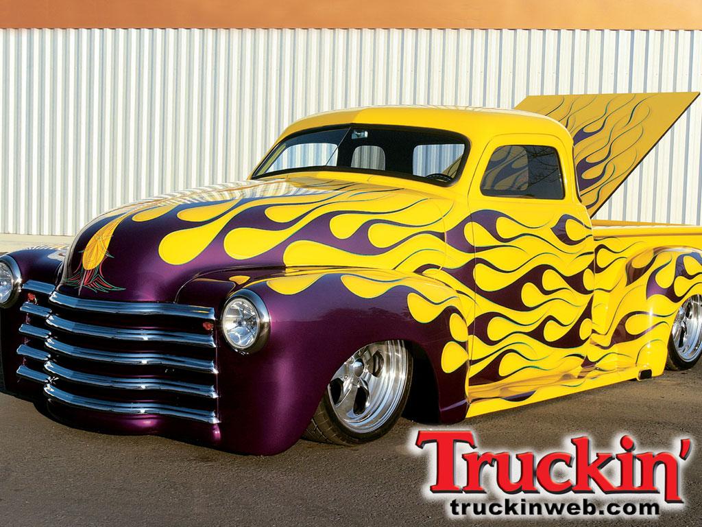 Old Chevy Truck Wallpapers - WallpaperSafari
