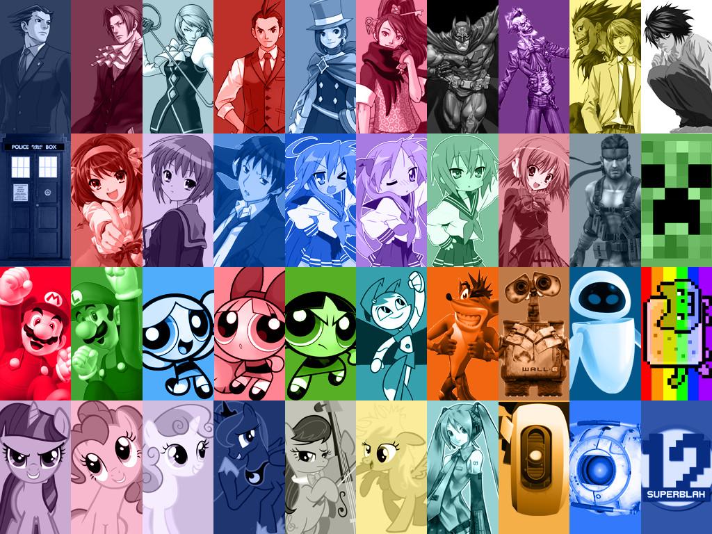 Free Download Disney Pixar Characters Wallpaper Character Collage
