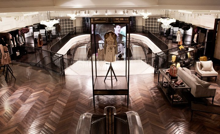 new Burberry flagship store London Fashion Wallpaper Magazine 720x439