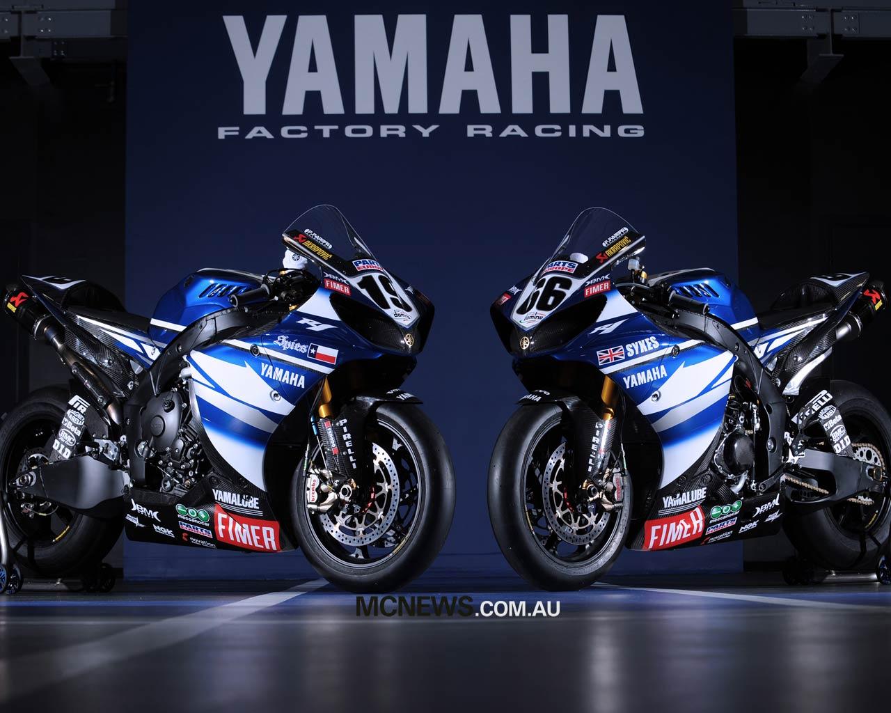 Download bikes wallpapers Yamaha R1 SuperBike Wallpapers 1280x1024
