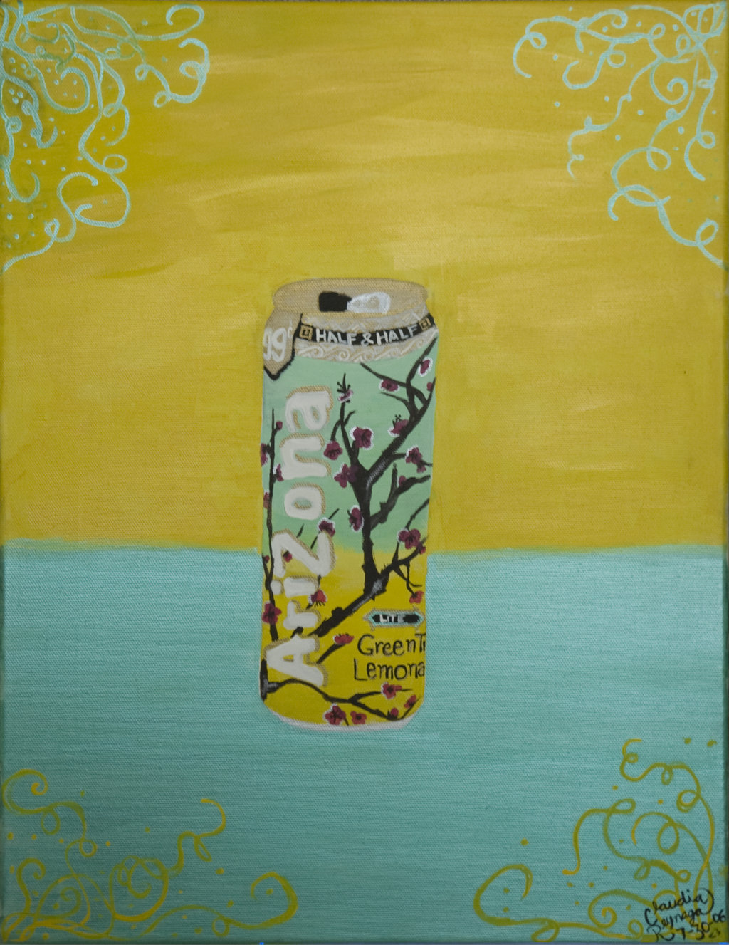 Arizona Green Tea by ClaudieR 1024x1327