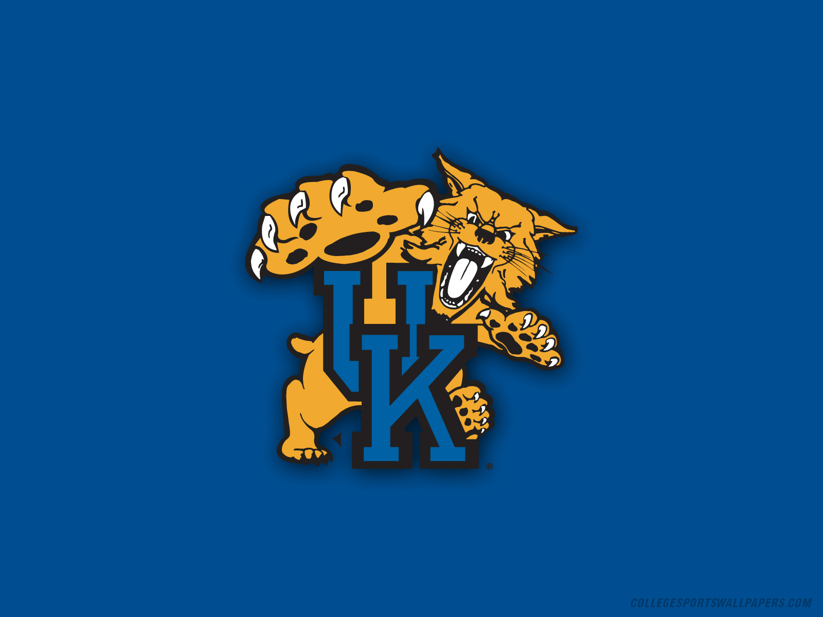 Kentucky Wildcats Uk logo 1600x1200