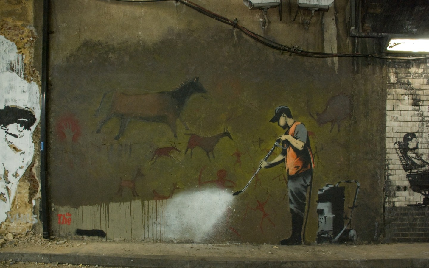 Banksy Hd Wallpaper: Banksy Art Wallpaper