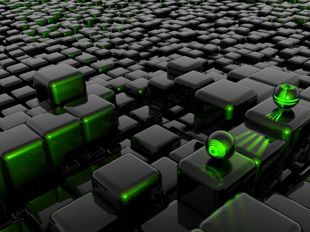Black And Green Abstract Wallpaper 3107 Hd Wallpapers in Abstract 1024x768